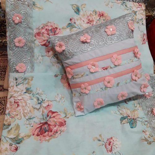 Flower sheet Pillow & Cushion 1