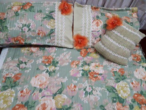Flower sheet Pillow & Cushion