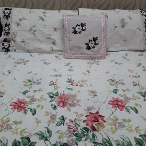 Flowers Sheet Pillows & Cushion