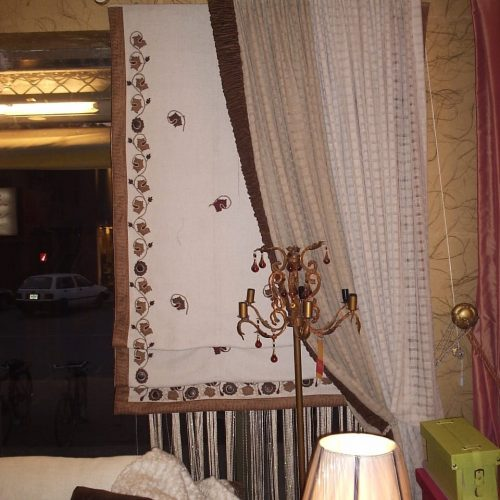 Attractive Curtain Designs for Entrance Ways