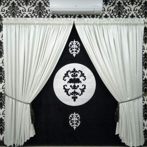 Black & White Curtains