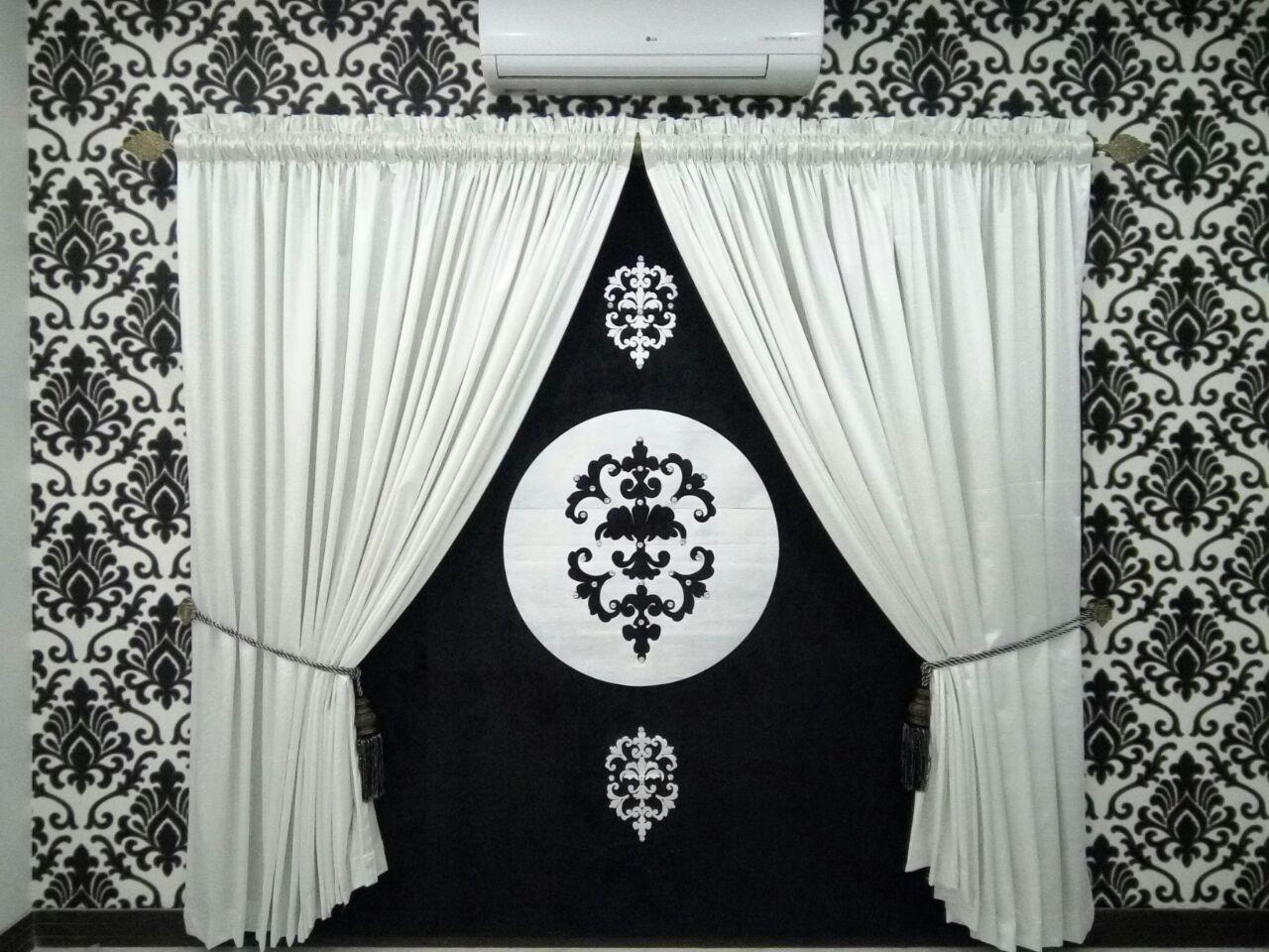 Black & White Curtains