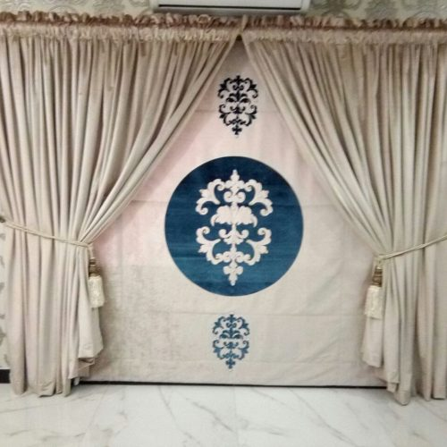 Fancy Attractive Curtains for wedding Stage