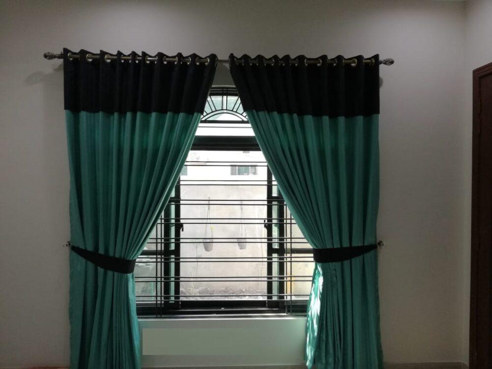 Ferozy Black Curtains