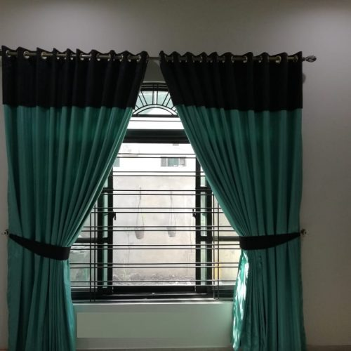 Ferozy Black Curtains