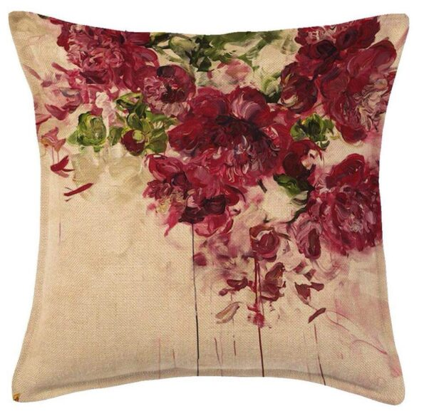 Flowers Painting Designs Cushions