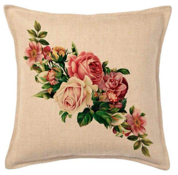 Flowers Print Cushions