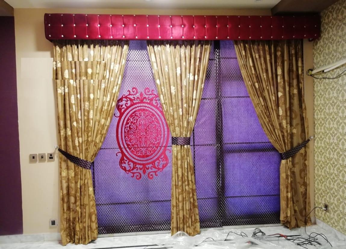 Golden Curtains Sets
