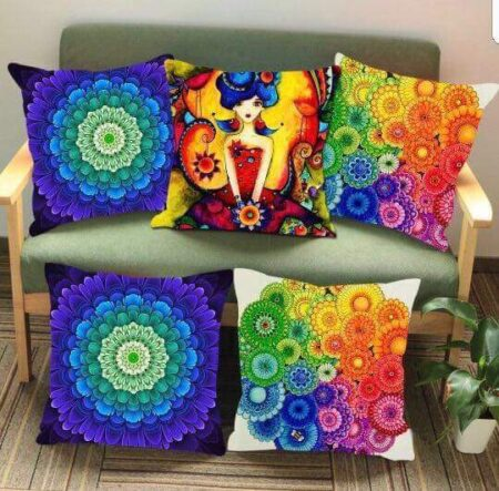 Multi Color Printed Cushions