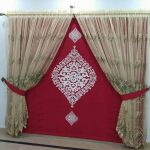 Net Embroidered Curtains