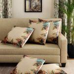 Peacock wings Print Cushions