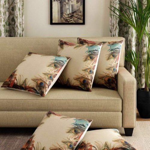 Peacock wings Print Cushions