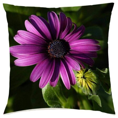 Purple Flower Cushion Cushions
