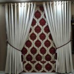Red Attractive Curtains Set