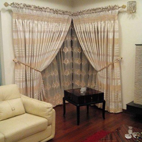 Curtain & Blind Designs for Bedroom | Parda Design in Pakistan