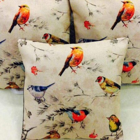 Sparrow Print Cushions