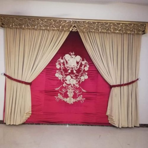 Wedding Hall Curtains Set