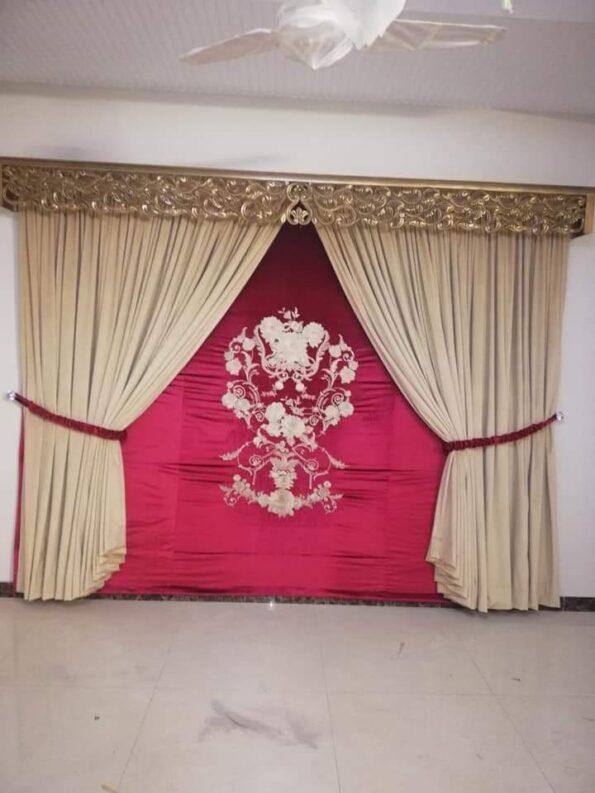 Wedding Hall Curtains Set