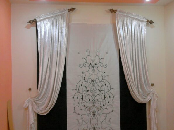White Fancy Curtains