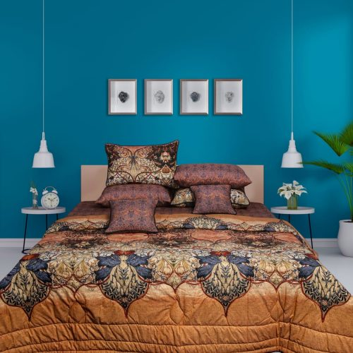 Brownish Bedding 8 PCS Set