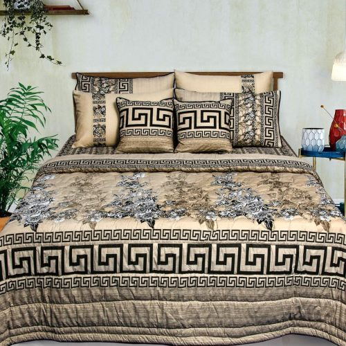 Chocolate Color Bedding 8 PCS Set