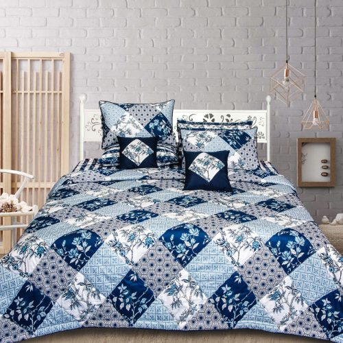 Light Dark Attractive Bedding 8 PCS Set