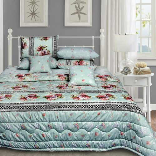 Light Green Bedding 8 PCS Set
