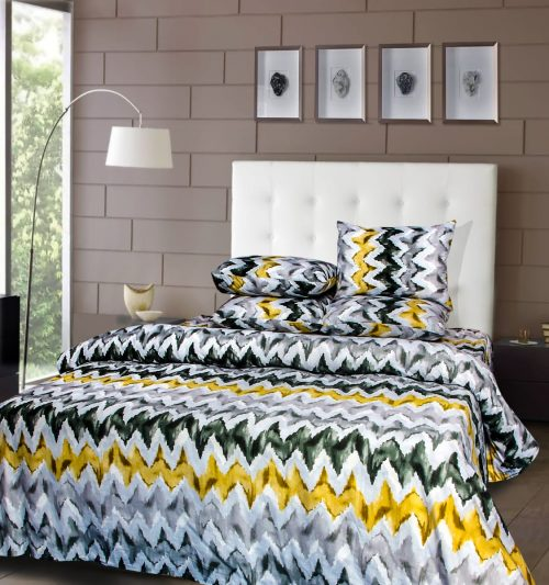 Shock Design Bedding with 2 Pillows