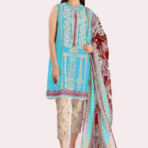 KHAADI Lawn Collection 2020 (4)