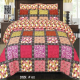 Box Printed King Bed Sheet