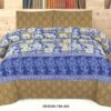 Blue Printed Bed Covers