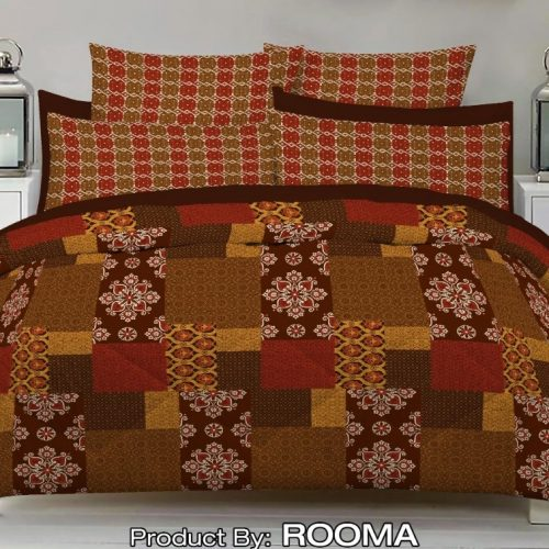 Brown Color Bed Sheet