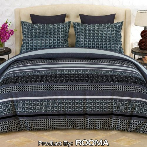 Dark Grey Color Bed Sheet