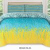 Green Yellow Color Bed Sheet