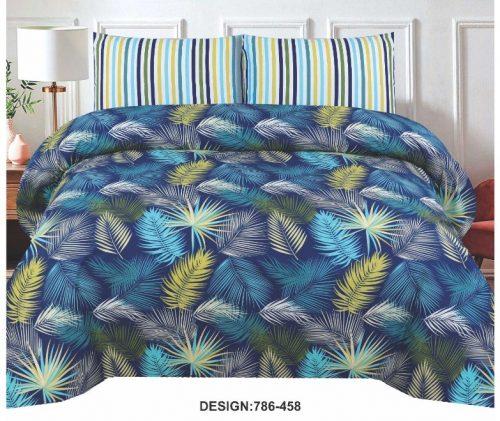 Leaf Printed Bed Sheets