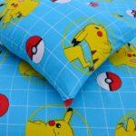 Pikachu Cartoon Kids Bed Sheet