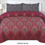 Red Printed Bed Sheets For Sale