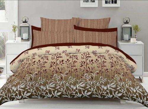 Skin Brown Color Bed Sheet