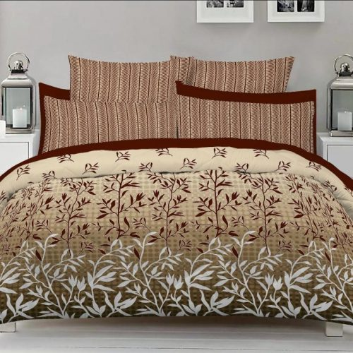 Skin Brown Color Bed Sheet
