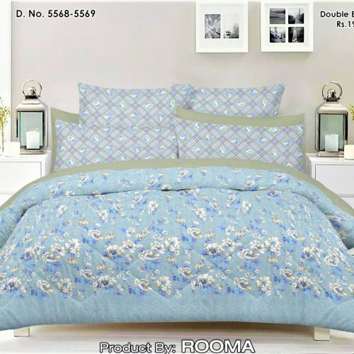 Sky Blue Bed Sheets