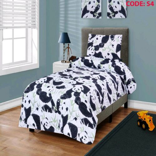 Panda Kids Bed Sheet