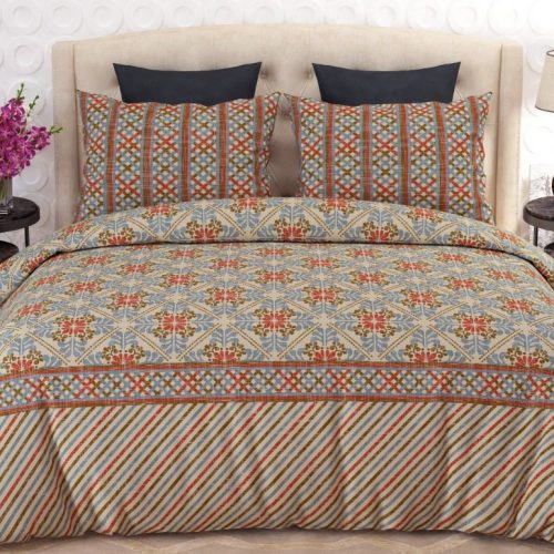 Printed Lining Bed Sheets