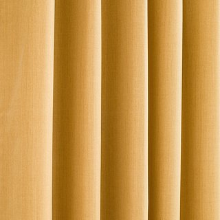 Yellow Blackout Curtains (2)