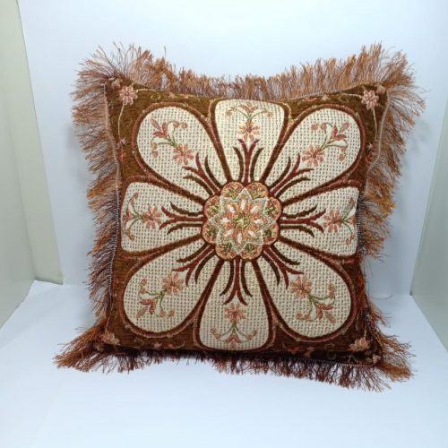 Yellow Brown Cushion Covers