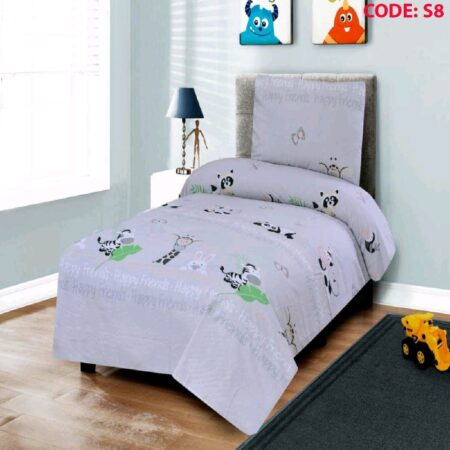 Zebra Kids Bed Sheet