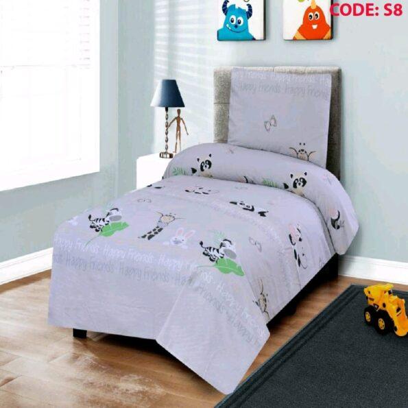 Zebra Kids Bed Sheet