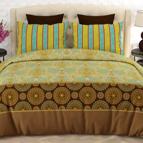 Golden Brown Bed Sheets