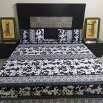 Black White Bed Cover