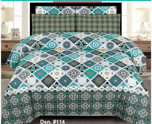 Box Printed Bed Sheets