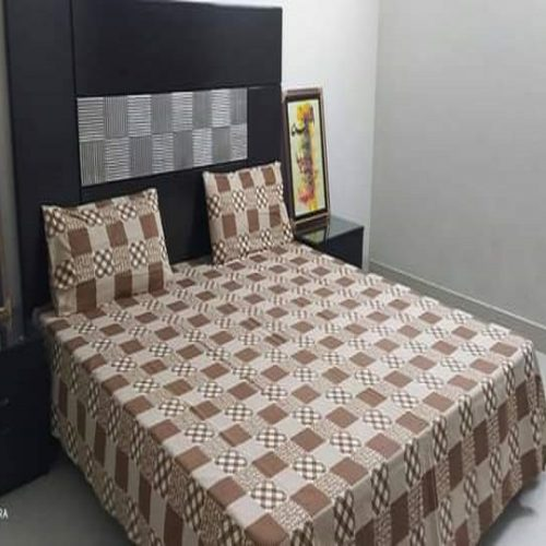 Brown Box Brown Golden Crystal Bedding